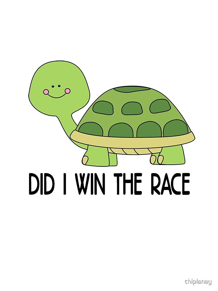did i win the race, funny Animal by chiplanay