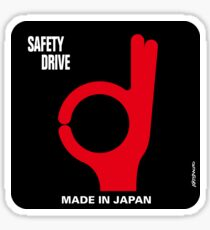 Safety Drive – Made In Japan Sticker