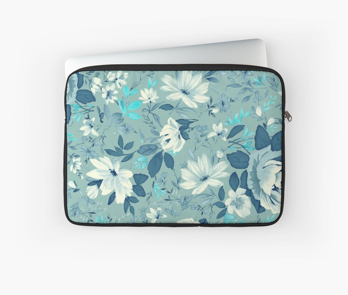 Green Floral Pattern by whatemma