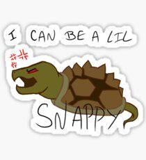 A lil' Snappy Sticker
