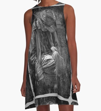 The Wandering Man A-Line Dress