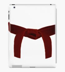 Martial Arts Red Belt iPad Case/Skin