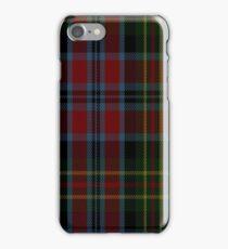 01379 Sir George Etienne Cartier Commemorative Tartan iPhone Case/Skin