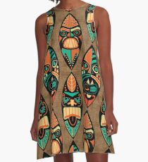MCM Tiki Lounger A-Line Dress