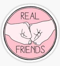 REAL FRIENDS - Tumblr Sticker