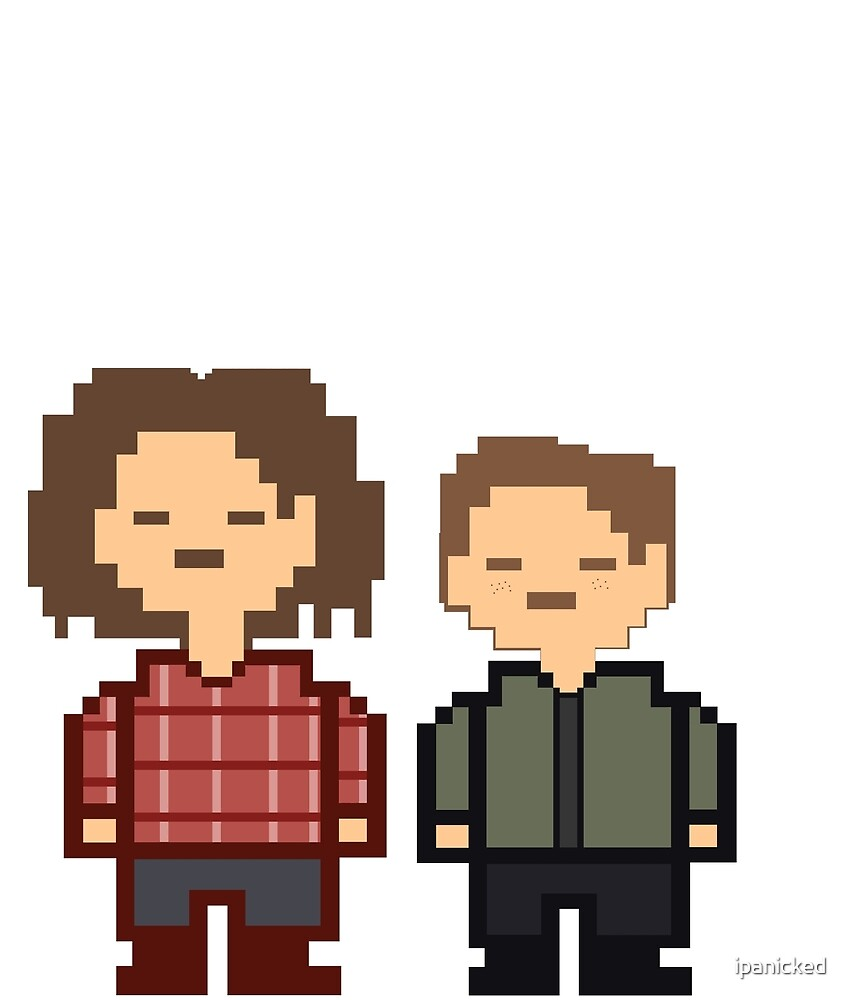 Sam and Dean Winchester Inspired by Undertale - Supernatural by ipanicked