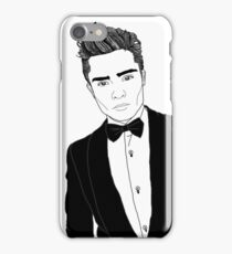 Chuck Bass - Black and White iPhone Case/Skin