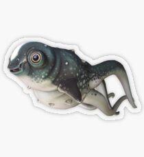 CuteFish Transparent Sticker