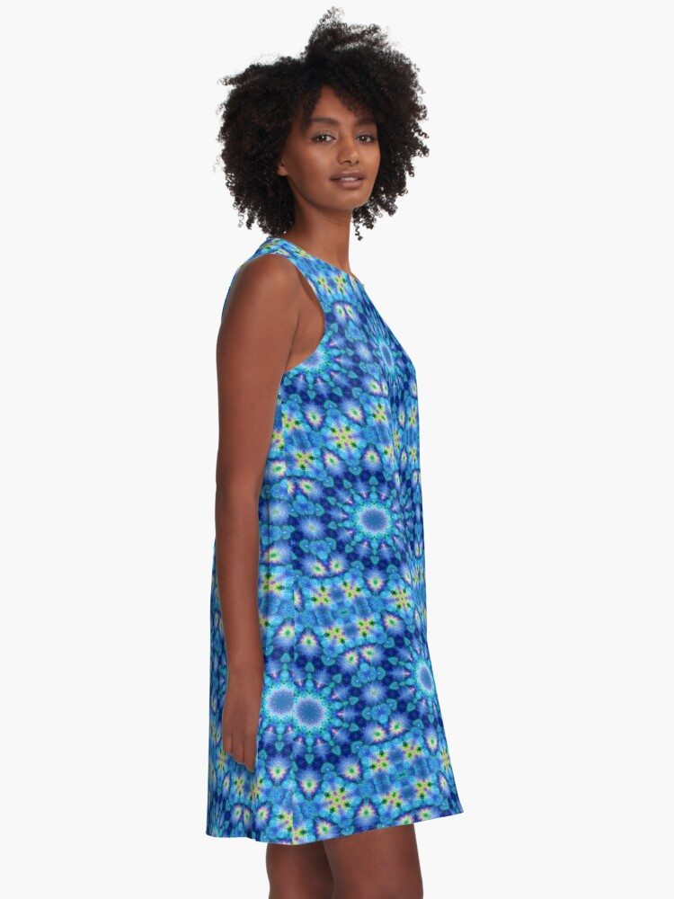 Alternate view of BLUE ENERGY | REPSYCLE #105 A-Line Dress