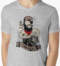 Adventure of the Sea Mens V-Neck T-Shirt