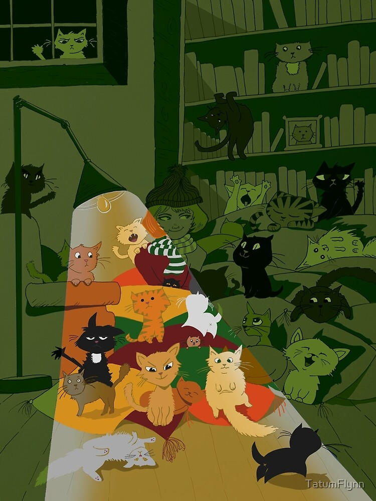 stack o' cats  by TatumFlynn