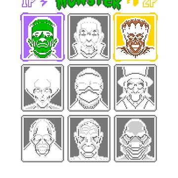 8 Bit Monsters1 by tanpssytan