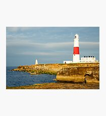 Morning at Portland Bill Lighthouse Photographic Print
