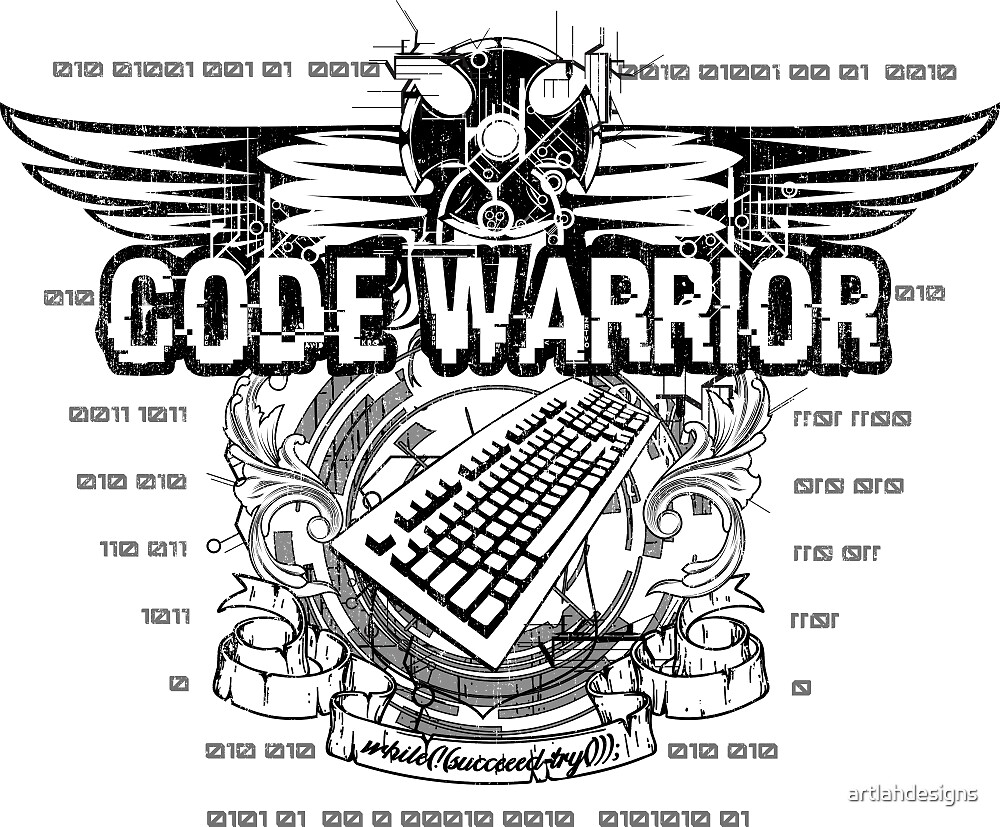 Code Warrior by artlahdesigns