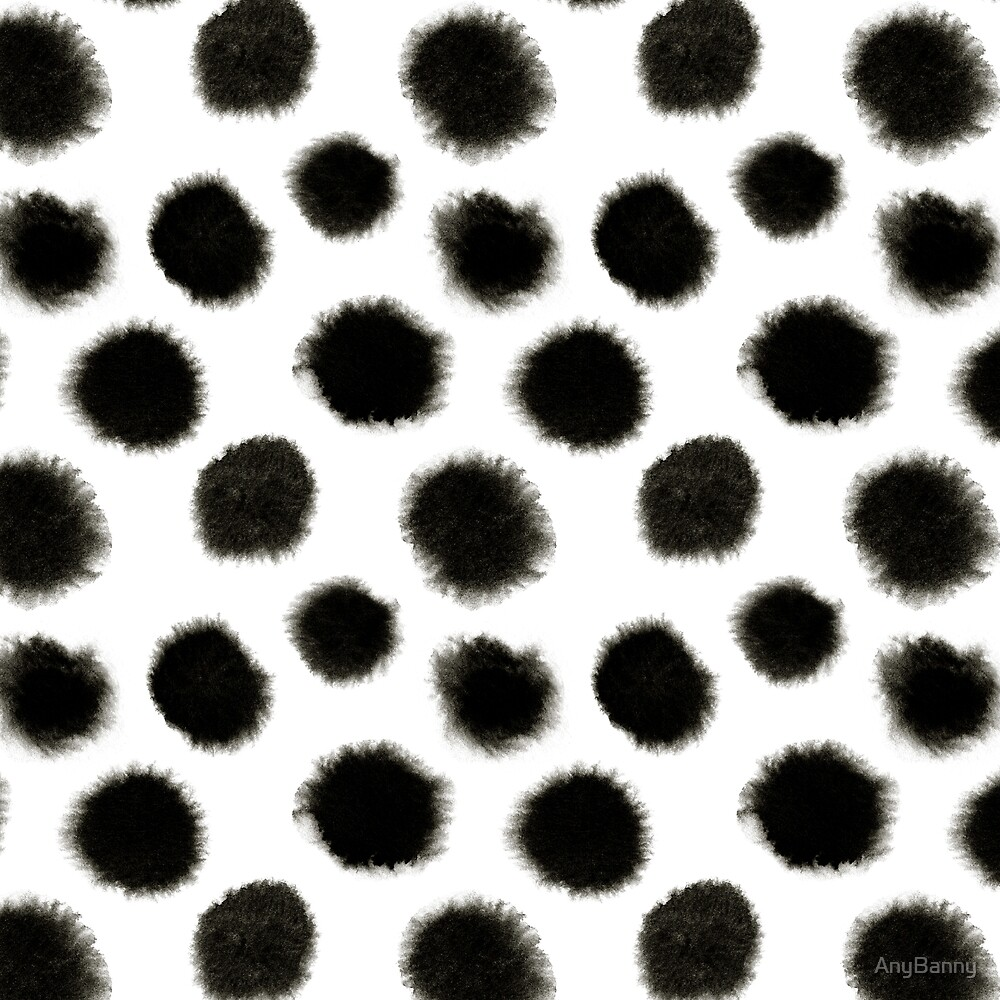 Pattern with black spots by AnyBanny
