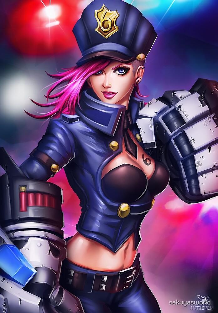 Vi Officer by sakuyasworld