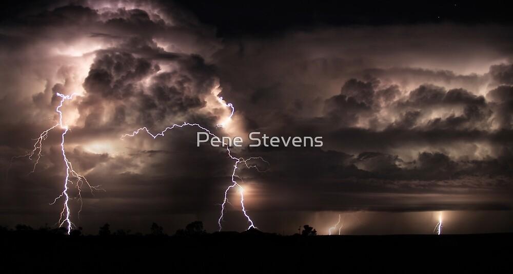 Electric Sky by Pene Stevens