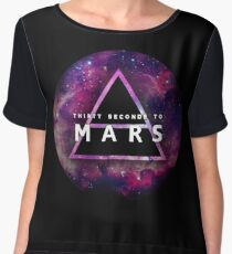 30 Seconds to Mars: Galaxy Design Women's Chiffon Top