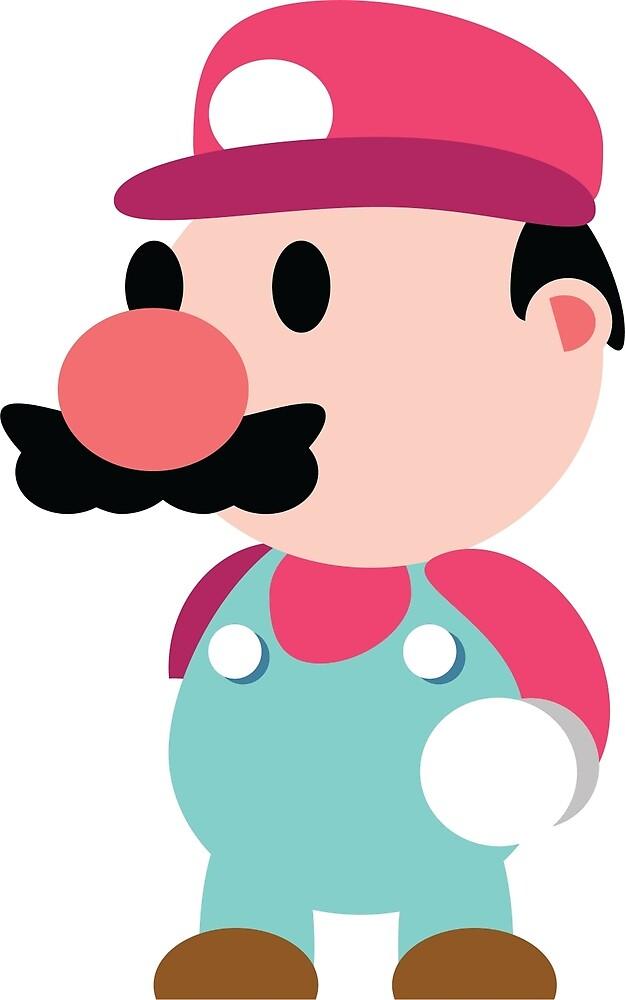 Minimal Mario by GreenStar