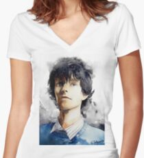 Ben Whishaw 01 Women's Fitted V-Neck T-Shirt