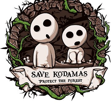 Save Kodamas by tanpssytan