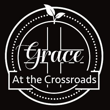 GRACE AT THE CROSSROADS WHITE LOGO by GraceCrossroads