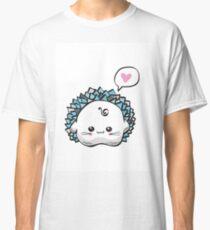 kawaii cute hedgehog on a white background Classic T-Shirt