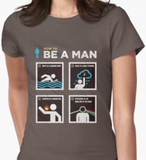 be a man Women's Fitted T-Shirt
