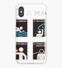 be a man iPhone Case/Skin