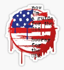Havana Affair Stars n Stripes Sticker