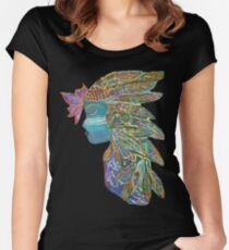 Spiritual Warrior Women's Fitted Scoop T-Shirt