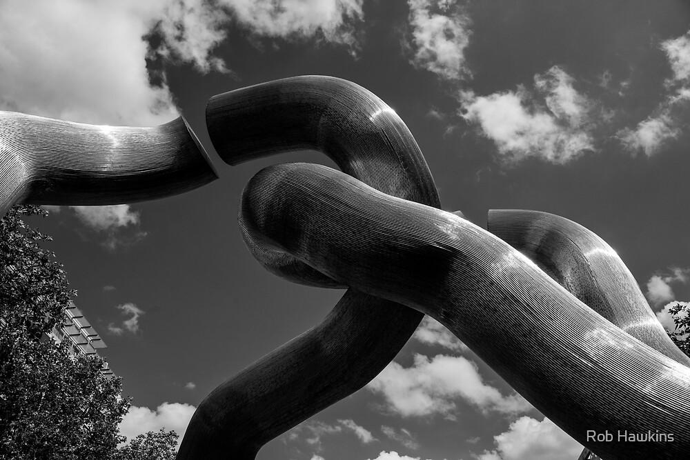 Berlin    broken Chain  by Rob Hawkins