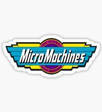 Micro Machines Sticker