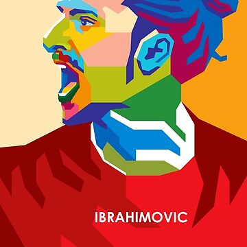 WPAP - Ibrahimovic by hwart