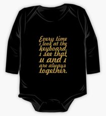 Every time i look... Inspirational Quote Kids Clothes