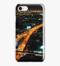 Night view over Bangkok city, Thailand iPhone Case/Skin