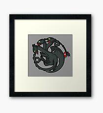 Toothless Targaryen Framed Print