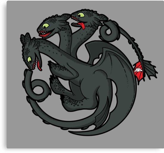 Toothless Targaryen by Scott Neilson Concepts