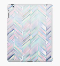 Silver Geometric Pattern iPad Case/Skin