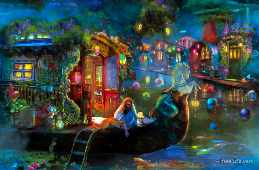Quot Wanderer S Cove Quot By Aimee Stewart Redbubble