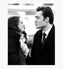 Blair and Chuck Black & White.  Photographic Print