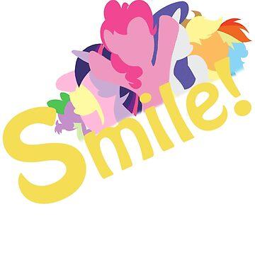 Smile! with Pinkie Pie by StarsCASSiOPEiA
