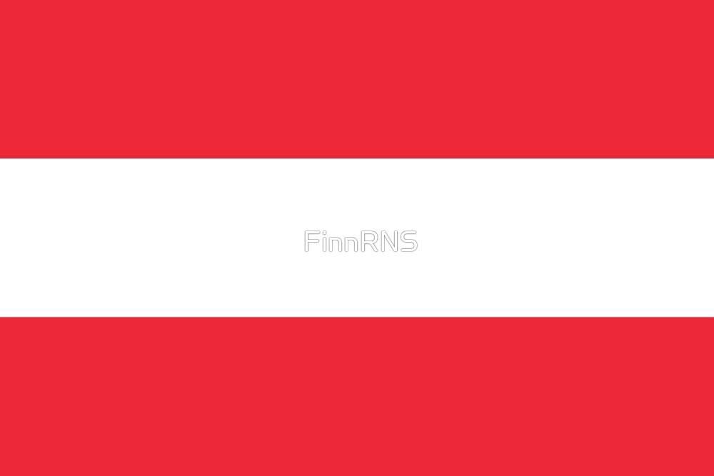 Austria Flag by FinnRNS