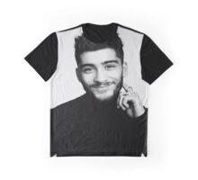 black and white zayn malik Graphic T-Shirt