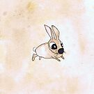 LITTLE RABBIT h710 by Hares & Critters