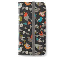 just birds dark iPhone Wallet/Case/Skin