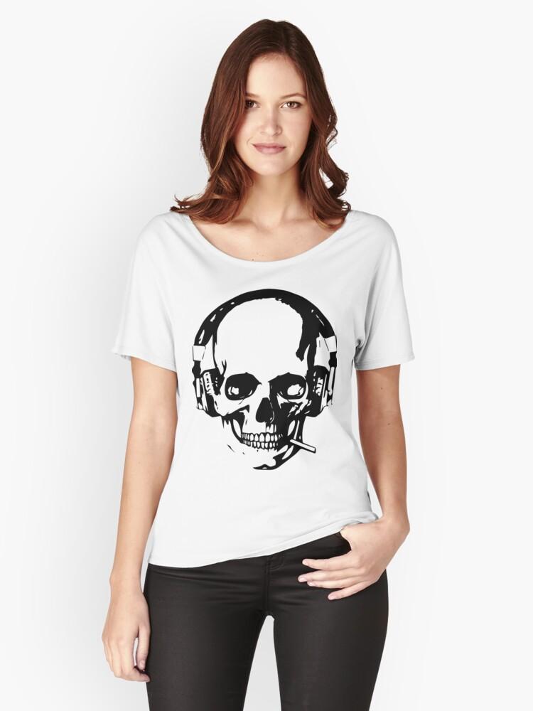 Punk Rock Women's Relaxed Fit T-Shirt Front