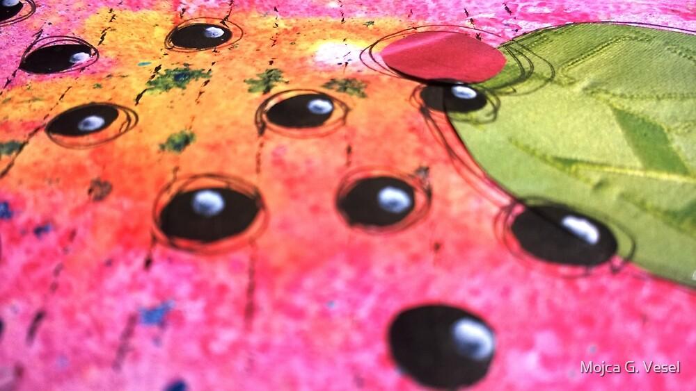 happy pink by Mojca G. Vesel