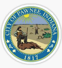 City of Pawnee, Indiana. Sticker