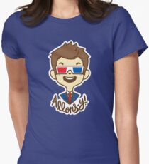 chibi!Allons-y Women's Fitted T-Shirt
